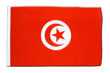Tunisie Drapeau Fourreau ECO 60 x 90 cm