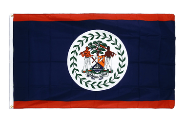 Belize - Premium Flag 3x5 ft CV