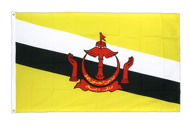 Brunei Premium Flag 3x5 ft CV