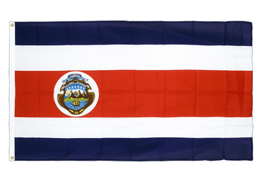 Costa Rica Premium Flag 3x5 ft CV