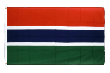 Gambia Premium Flag 3x5 ft CV