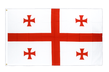 Georgia Premium Flag 3x5 ft CV