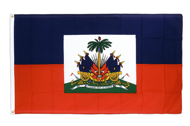 Haiti Premium Flag 3x5 ft CV
