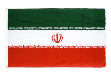 Iran Premium Flag 3x5 ft CV