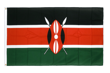 Kenya Premium Flag 3x5 ft CV