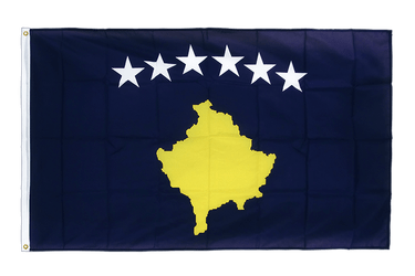 Kosovo Premium Flag 3x5 ft CV