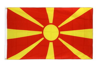 Macedonia Premium Flag 3x5 ft CV