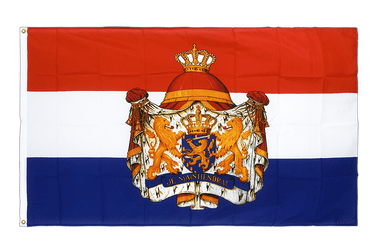 Netherlands with crest Premium Flag 3x5 ft CV