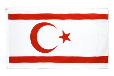 North Cyprus Premium Flag 3x5 ft CV