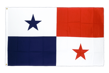 Panama Premium Flag 3x5 ft CV