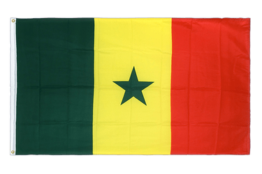Senegal Premium Flag 3x5 ft CV