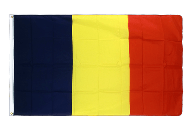 Chad Premium Flag 3x5 ft CV