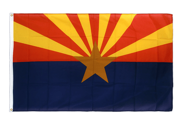 Arizona Premium Flag 3x5 ft CV