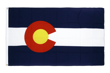 Colorado Premium Flag 3x5 ft CV
