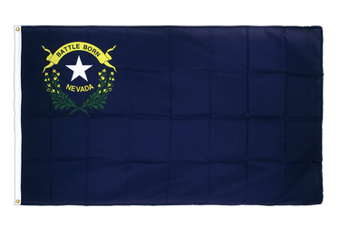 Nevada Premium Flag 3x5 ft CV