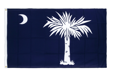 South Carolina Hissflagge 90 x 150 cm CV