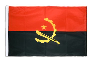 Angola Sleeved Flag PRO 2x3 ft