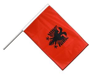 Albania - Hand Waving Flag PRO 2x3 ft