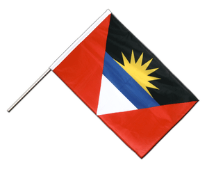 Antigua and Barbuda Hand Waving Flag PRO 2x3 ft