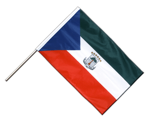 Equatorial Guinea Hand Waving Flag PRO 2x3 ft