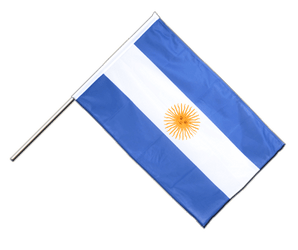 Argentina - Hand Waving Flag PRO 2x3 ft