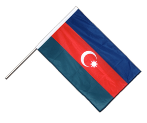 Azerbaijan - Hand Waving Flag PRO 2x3 ft