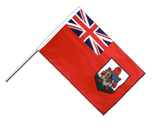 Bermuda Hand Waving Flag PRO 2x3 ft