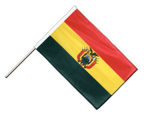 Bolivia - Hand Waving Flag PRO 2x3 ft