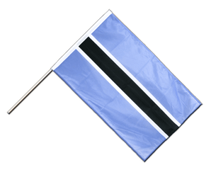 Botswana Hand Waving Flag PRO 2x3 ft