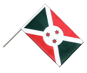 Burundi Hand Waving Flag PRO 2x3 ft