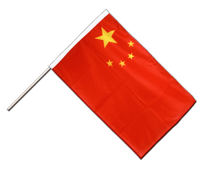China - Stockflagge PRO 60 x 90 cm