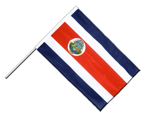 Costa Rica Hand Waving Flag PRO 2x3 ft