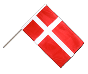 Denmark Hand Waving Flag PRO 2x3 ft