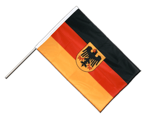 Germany Dienstflagge Hand Waving Flag PRO 2x3 ft