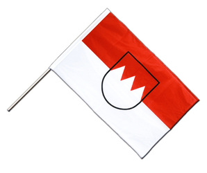 Franconia - Hand Waving Flag PRO 2x3 ft
