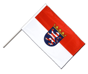 Hesse Hand Waving Flag PRO 2x3 ft