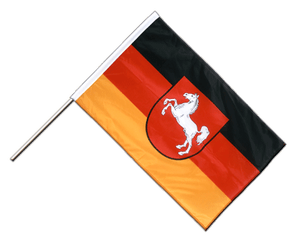 Lower Saxony Hand Waving Flag PRO 2x3 ft