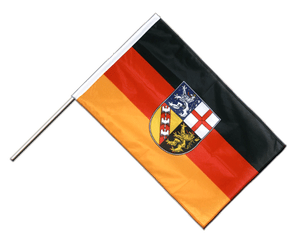 Saarland Hand Waving Flag PRO 2x3 ft