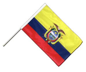 Ecuador - Hand Waving Flag PRO 2x3 ft