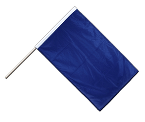 Blue Hand Waving Flag PRO 2x3 ft