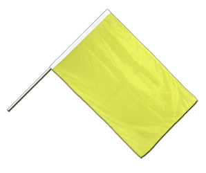 Yellow Hand Waving Flag PRO 2x3 ft