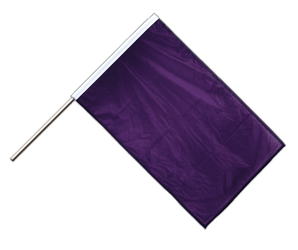 Purple Hand Waving Flag PRO 2x3 ft