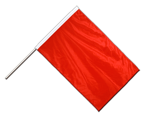 Red Hand Waving Flag PRO 2x3 ft