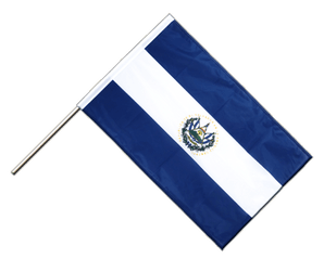El Salvador Hand Waving Flag PRO 2x3 ft