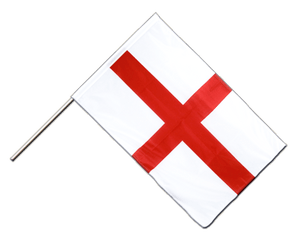 England St. George Hand Waving Flag PRO 2x3 ft