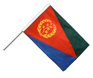 Eritrea - Hand Waving Flag PRO 2x3 ft