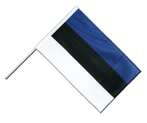 Estonia - Hand Waving Flag PRO 2x3 ft