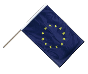 European Union EU Hand Waving Flag PRO 2x3 ft