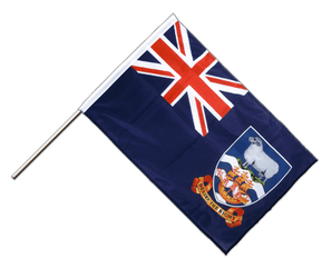 Falkland Islands Hand Waving Flag PRO 2x3 ft