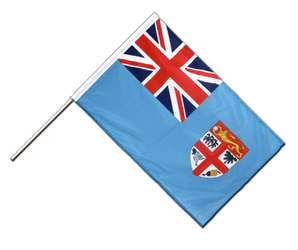 Fiji Hand Waving Flag PRO 2x3 ft